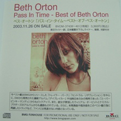 Beth Orton Pass in Time Japan Promo