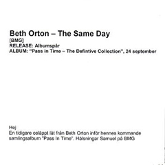 Beth Orton The Same Day